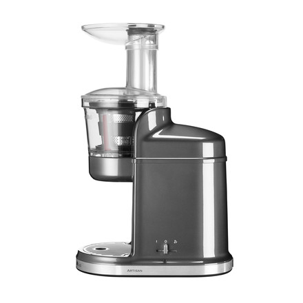 KitchenAid - Slow Juicer in medaillon silver without jug