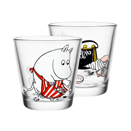 Iittala - Mumin glass 21 cl, Moominmamma on the Shore