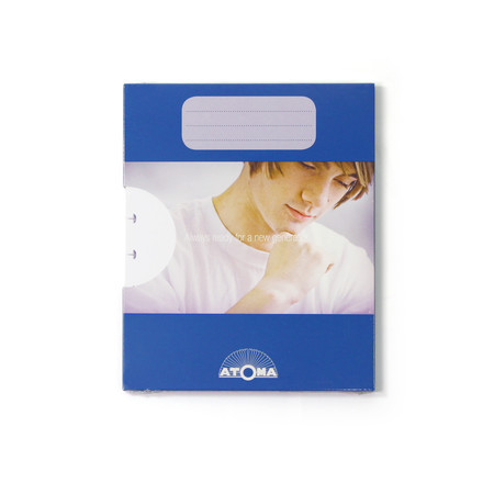 Atoma - Refill pack Basic A5 plain, with package
