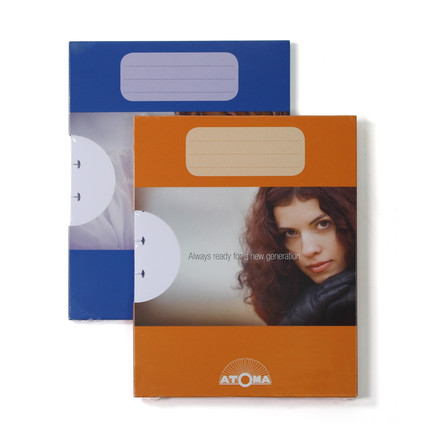 Atoma - Refill pack Basic A5 plain, Duo with package