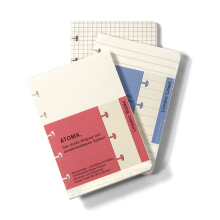 Atoma - Refill pack collection Classic 95 x 140 plain, ruled and chequered
