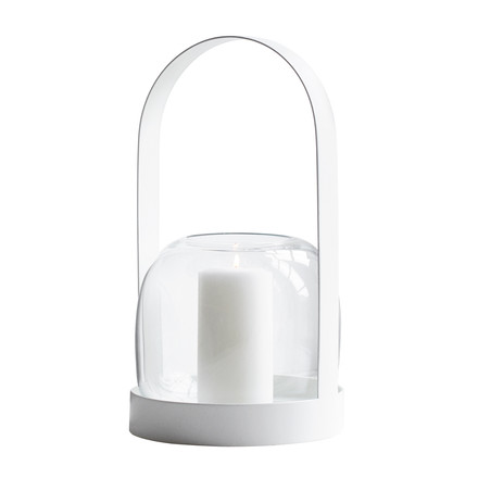 Menu - Carrie Lantern, white