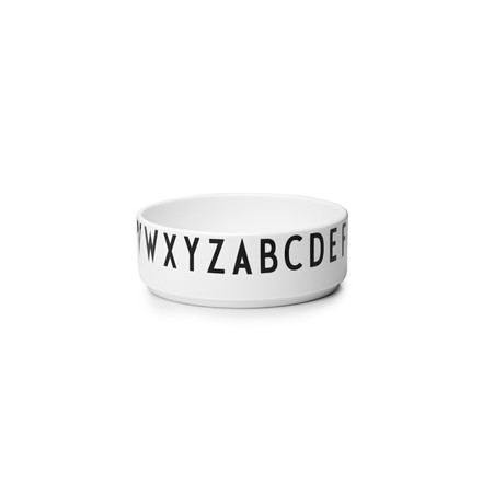 Design Letters - AJ Porcelain Decoration Bowl, small