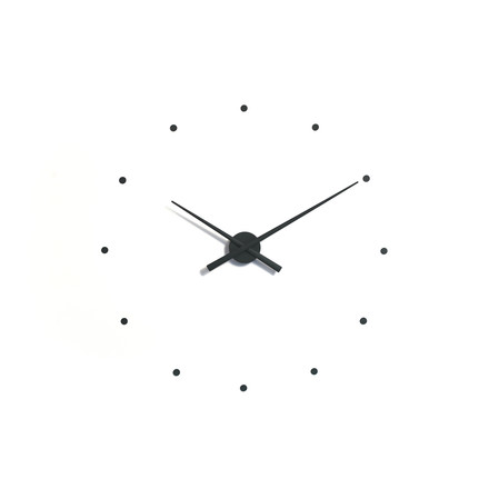 OJ wall clock by nomon in black