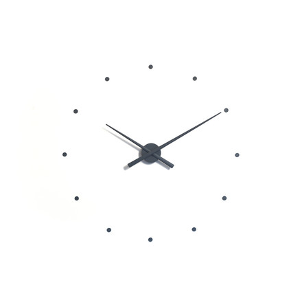 OJ wall clock by nomon in grey