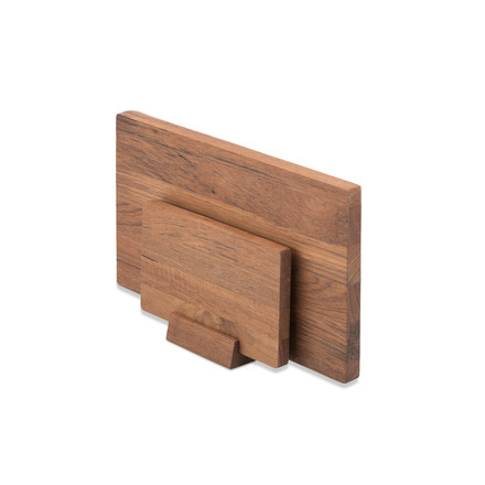 Skagerak - Basic Cutting Board-set with stand made of teak wood