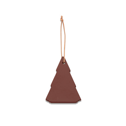 Skagerak - Spruce Tree Decoration, oxide red