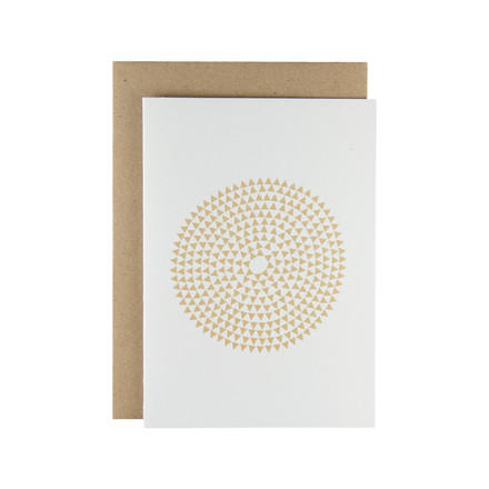 Karte - Murmurs greeting card in beige