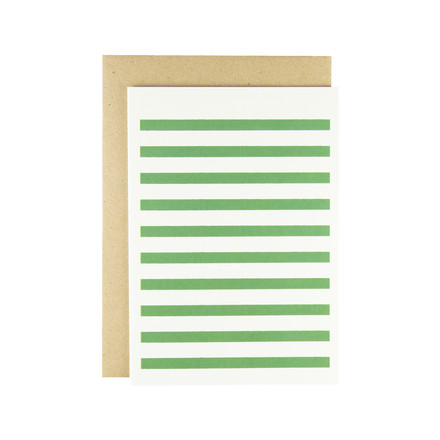 Karte - Stripetown Pop in green