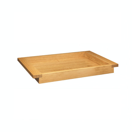 e15 - PA04 Theo tray 30 x 45 cm out of oiled oak