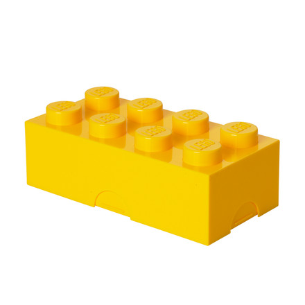 Lego - Lunch Box 8, yellow