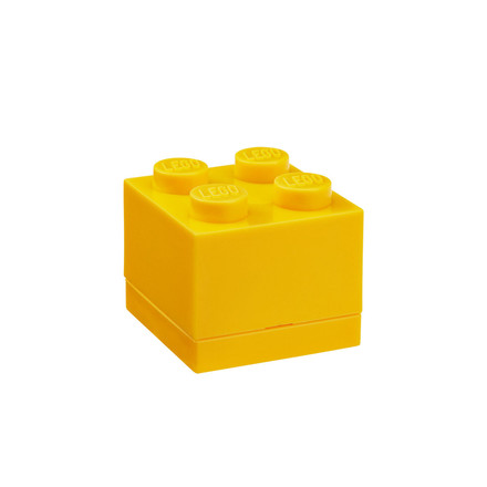 Lego - Mini-Box 4, yellow