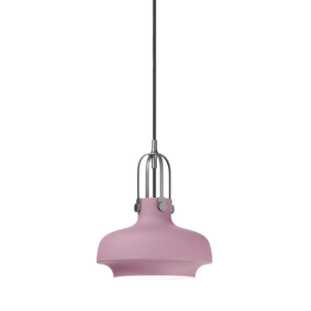 Copenhagen SC6 Pendant Lamp by &Tradition in matte pink