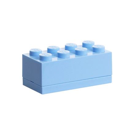 Lego - Mini-Box 8, light blue