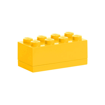 Lego - Mini-Box 8, yellow