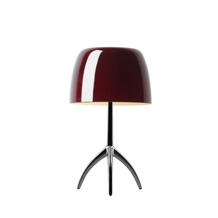 Foscarini - Lumiere 05 table lamp, cherry red