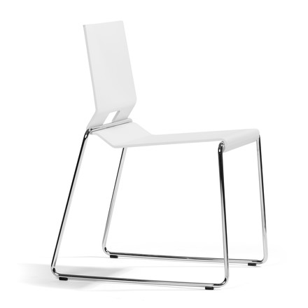 Blå Station AB - Chair 69, white stained