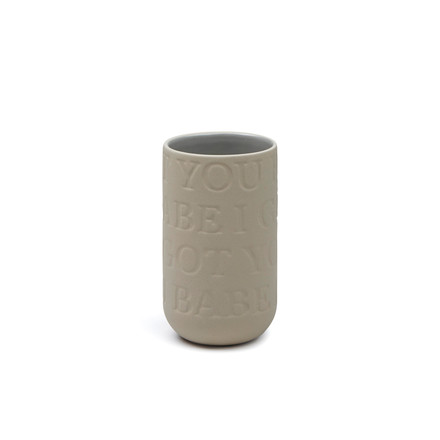 The Kähler Design - love song vase H 125 cm in sand