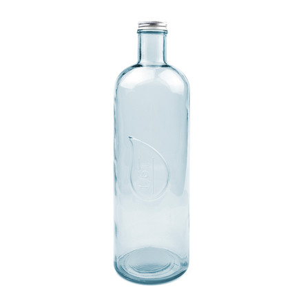 The Drop water and wine bottle by Novoform in ice blue