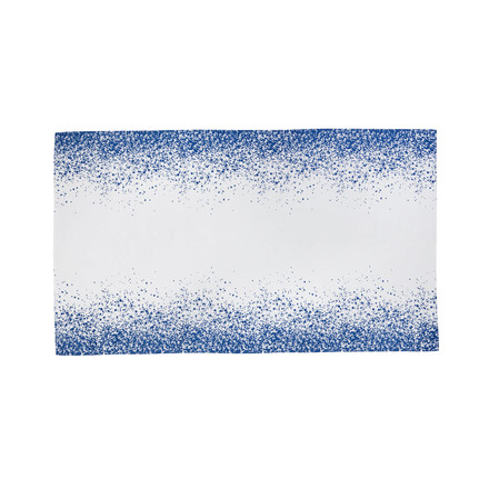 ferm Living - Splash Table Cloth 140 x 240cm, blue