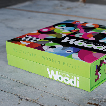 Woodi Wood-Puzzle by Remember
