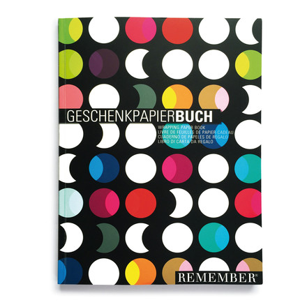 Wrapping paper book by Remember
