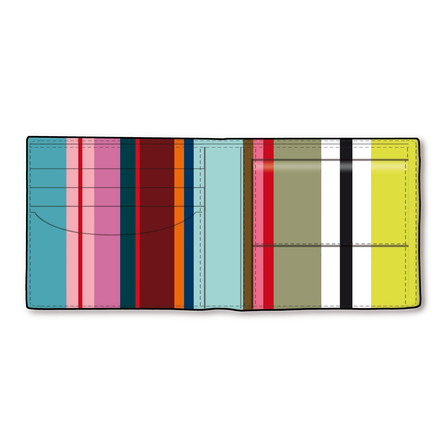 Men's Wallet Color Lines by Remember