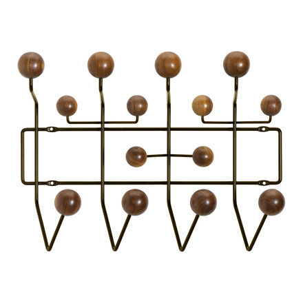 Vitra - Hang it all Coat Rack in walnut chocolate