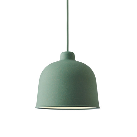 Muuto - Grain Pendant Lamp, dusty green