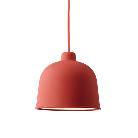 Muuto - Grain Pendant Lamp, dusty red