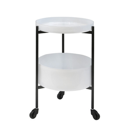 Pulpo - Karussel Two serving trolley in white