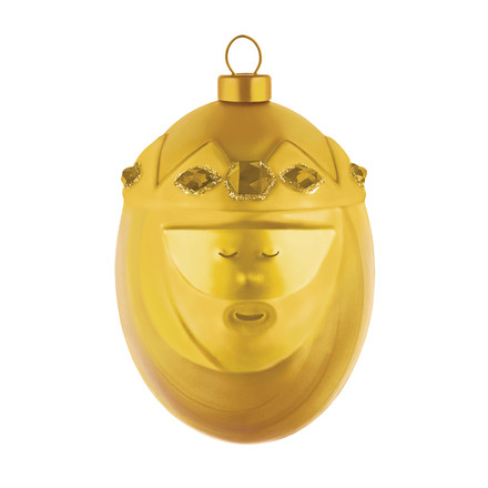Melchiore Christmas Bauble by A di Alessi