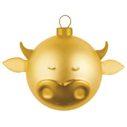 Ox Christmas Bauble by A di Alessi