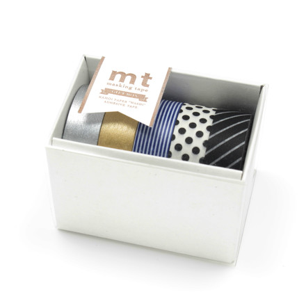 Masking tape - mt Gift Box Monotone (set of 5)