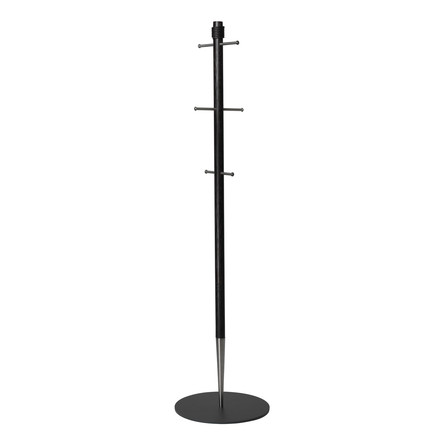 Pencil coat stand by LindDNA in black oak