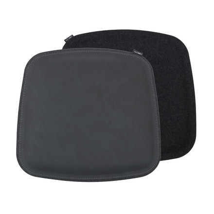 Cushion by LindDNA made of Nupo in black