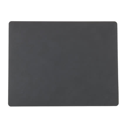 LindDNA - Table Mat Square L 35 x 45 cm in Nupo anthracite