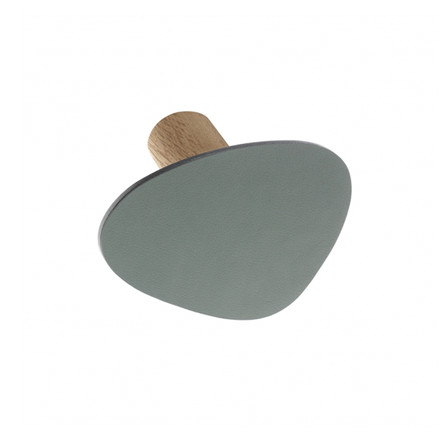 LindDNA - Wall Dots wall hooks S in Nupo pastel green