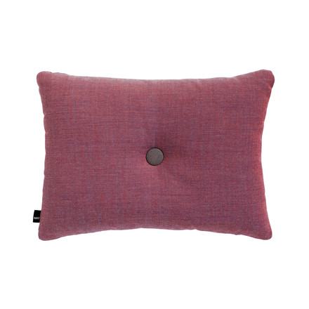 Hay - Cushion Dot 45 x 60 cm Surface in red/ blue 640
