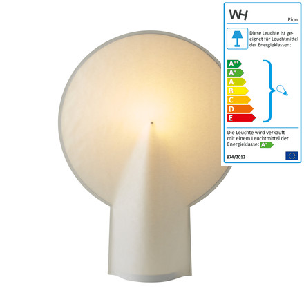 wrong.london - Pion table lamp L in natural white