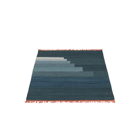 &Tradition - Another Rug AP1, 90 x 140 cm in storm blue