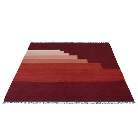 Another Rug AP4 by &Tradition in red vulcano