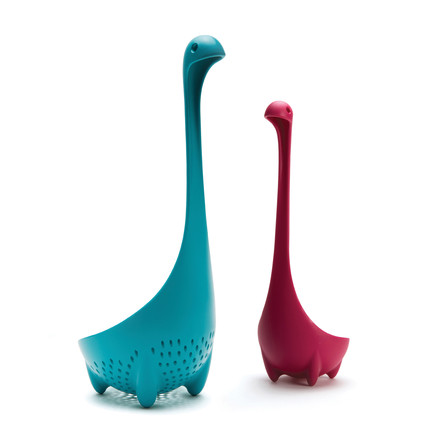 Mamma Nessie vegetable strainer and Nessie ladle of Ototo