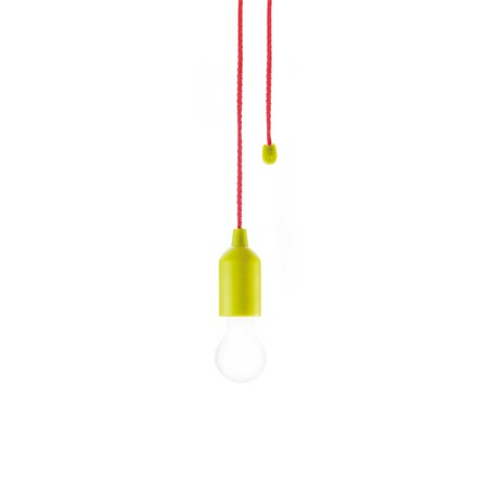 Pull lamp from Loooqs in yellow
