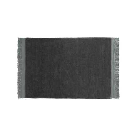 Hay - Raw rug 140 x 200 cm in anthracite