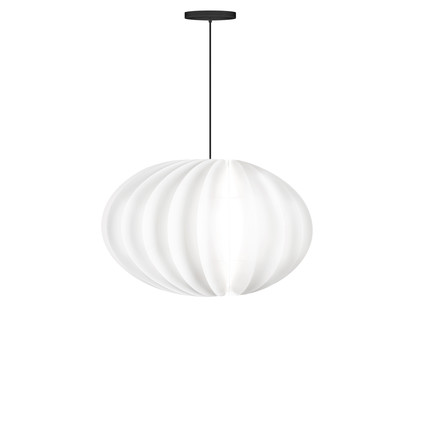Disca pendant lamp by Vita in white