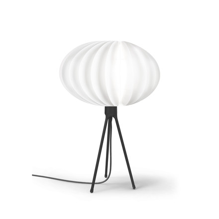 Disca table lamp by Vita in white