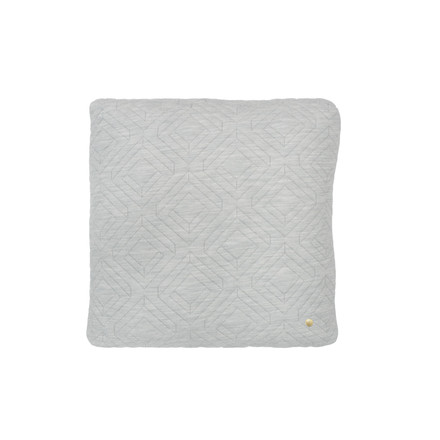 Cushion 45 x 45 cm by ferm Living in Light Grey