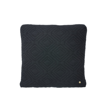 Cushion 45 x 45 cm by ferm Living in Dark Grey