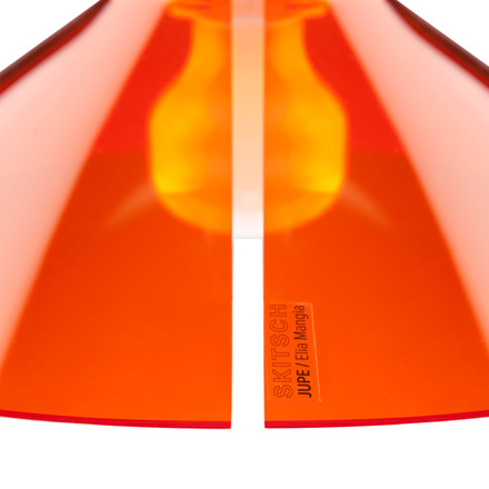 Jupe Pendant Lamp by Skitsch in Orange